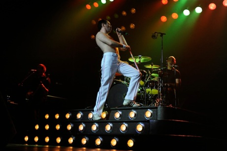 """One Night of Queen"" featuring Gary Mullen and the Works. Photo courtesy of the Harris Center"