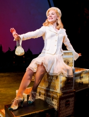 Gina Beck as Glinda in Wicked presented by Broadway Sacramento at The Community Center Theater May 28 – June 15, 2014. Photo by Joan Marcus.