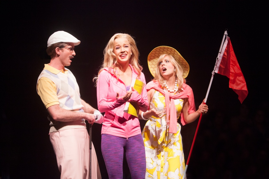Legally Blonde, Music Circus 2016. Photo by Charr Crail.
