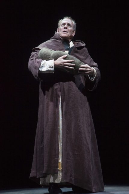 Mark Jacoby as Dom Claude Frollo in The Hunchback of Notre Dame, produced by Music Circus at the Wells Fargo Pavilion August 23-28. Photo by Charr Crail.