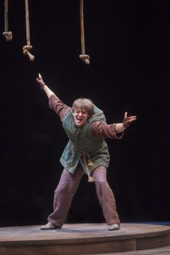John McGinty as Quasimodo in The Hunchback of Notre Dame, produced by Music Circus at the Wells Fargo Pavilion August 23-28. Photo by Charr Crail.