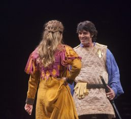 Eric Kunze as Captain Phoebus de Martin in The Hunchback of Notre Dame, produced by Music Circus at the Wells Fargo Pavilion August 23-28. Photo by Charr Crail.