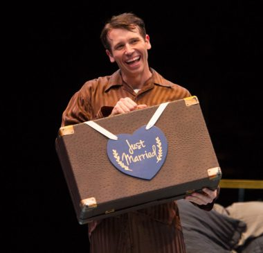 Matt Loehr as Jimmy Winter in Nice Work If You Can Get It, produced by Music Circus at the Wells Fargo Pavilion August 9-14. Photo by Kevin Graft.