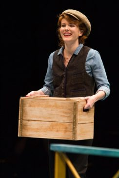 Kristie Kerwin as Billie Bendix in Nice Work If You Can Get It, produced by Music Circus at the Wells Fargo Pavilion August 9-14. Photo by Kevin Graft.
