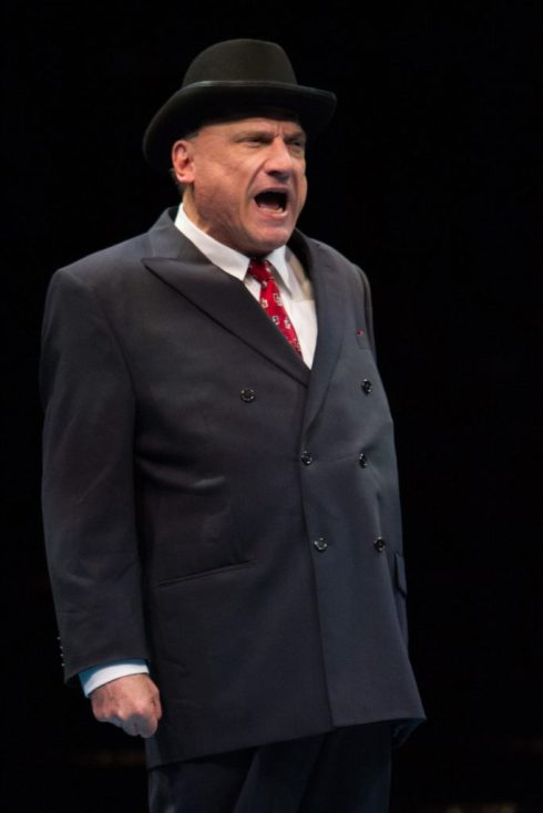 Ron Wisniski as Senator Max Evergreen in Nice Work If You Can Get It, produced by Music Circus at the Wells Fargo Pavilion August 9-14. Photo by Kevin Graft.