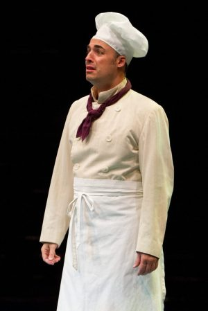Mark Bradley Miller as Duke Mahoney in Nice Work If You Can Get It, produced by Music Circus at the Wells Fargo Pavilion August 9-14. Photo by Kevin Graft.