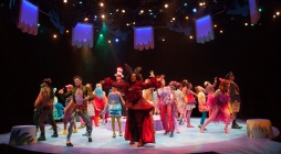 The company of Seussical, produced by Music Circus at the Wells Fargo Pavilion July 12-17. Photo by Charr Crail.