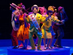 The company of Seussical, produced by Music Circus at the Wells Fargo Pavilion July 12-17. Photo by Kevin Graft.
