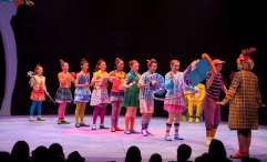 The Junior company of Seussical, produced by Music Circus at the Wells Fargo Pavilion July 12-17. Photo by Kevin Graft.